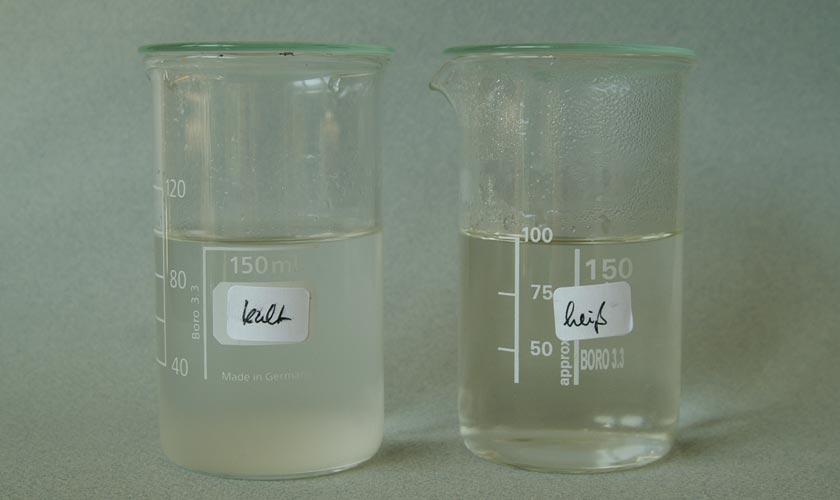 Natrosol™ 250 HX. Vergleich zweier Verarbeitsmethoden