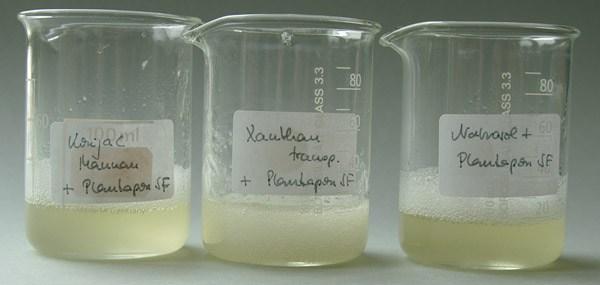 Konjac Mannan, Xanthan transparent, Natrosol™ 250 HX