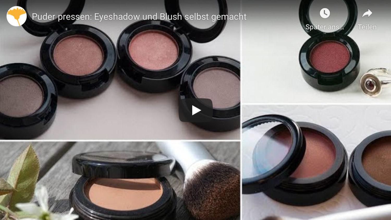 Video: Eyeshadow und Bluse selbst gemacht (YouTube), Heike Käser, Olionatura
