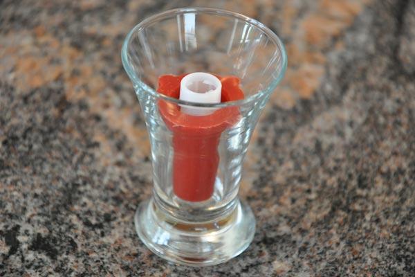 Lippenstifte gießen mit der Silikonform von Aroma-Zone, Schritt 8