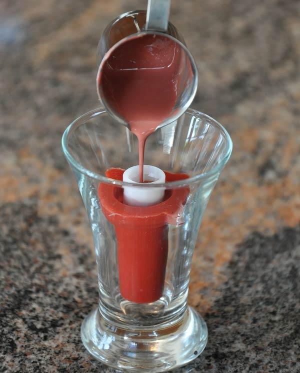 Lippenstifte gießen mit der Silikonform von Aroma-Zone, Schritt 9