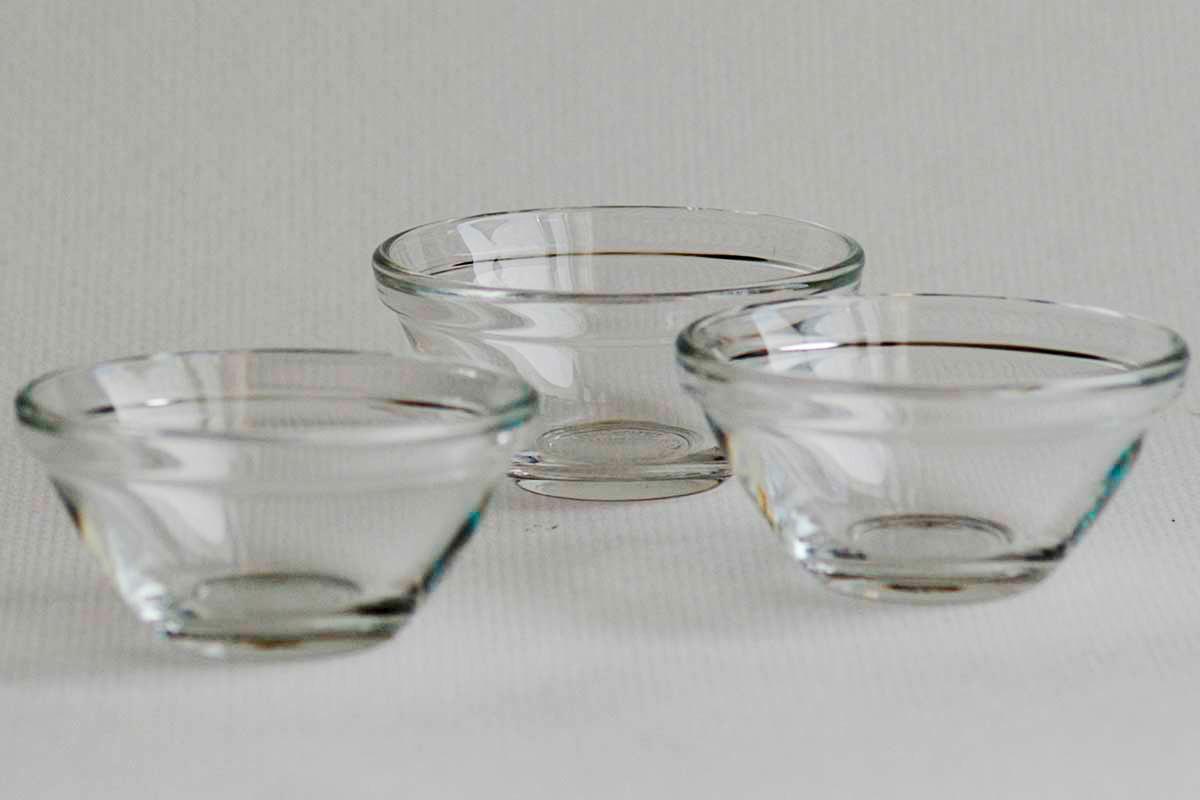 Glasschalen (Haushaltsbedarf)