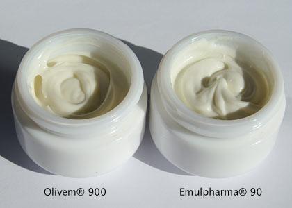 Emulsionen mit Olivem 900 und Emulpharma 90
