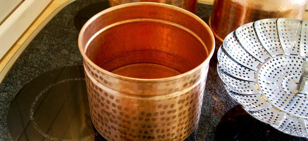 Kesselboden der Leonardo-Destille