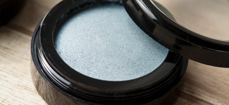 Eyeshadow in zartem Blaugrau, 36-mm