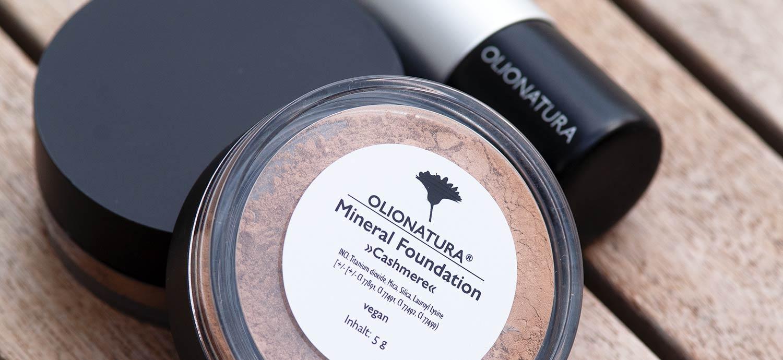 Mineral Foundation von Olionatura