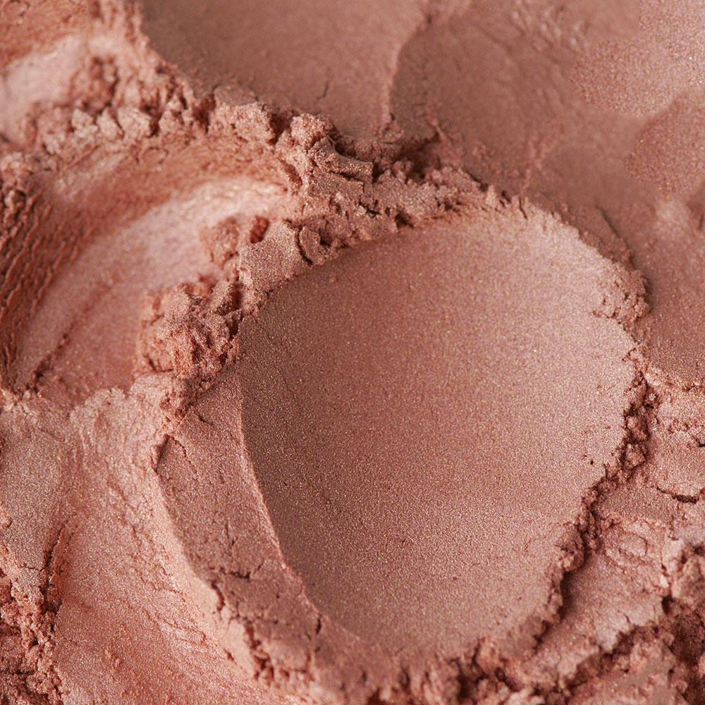 Perlglanzpigment Garnet von Olionatura, verwendet im Lippenstift Soft Berry