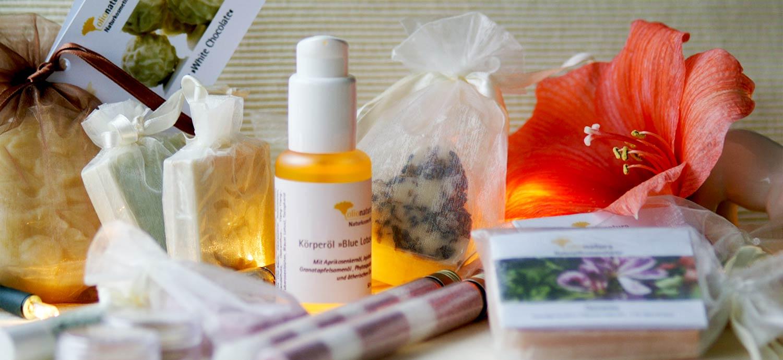 Alle Produkte aus der Weihnachts-Kosmetik-Manufaktur