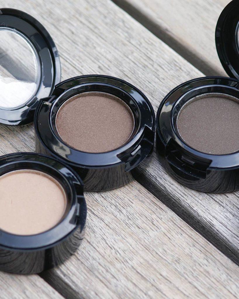 Eyeshadows in  Naturtönen nach einer Formulierung von Olionatura