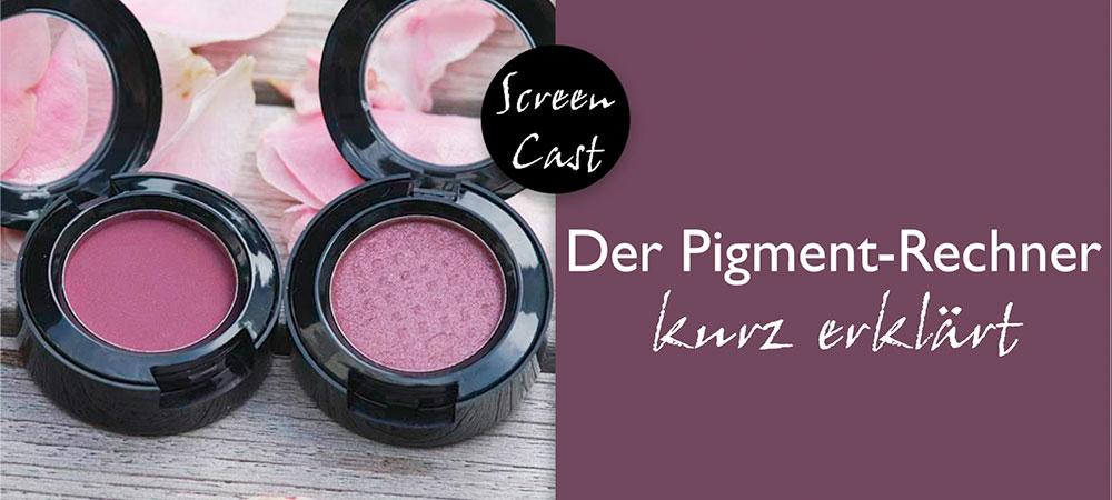 Screencast: Der Pigment-Rechner kurz erklärt